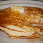Orange Pancakes