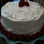 Lemon-Raspberry Layer Cake