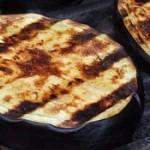 Grilled Eggplant & Mozzarella Sandwich